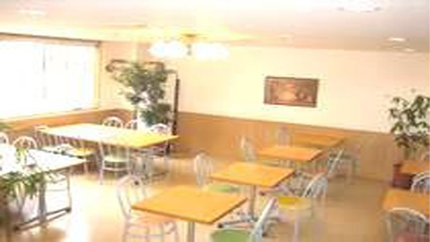 ホテル1階の食堂