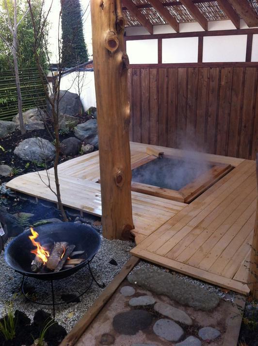 家族風呂 冬