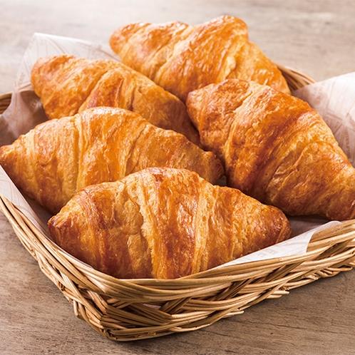 ◆朝食サービス◆パン◆人気のクロワッサン◆