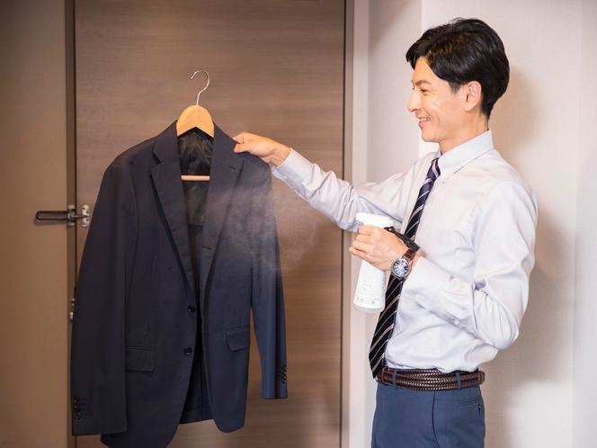 ◆衣類にも使用出来る消臭剤をご用意◆