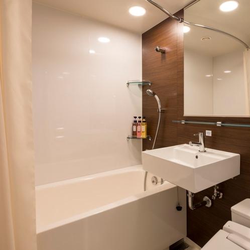 ◆バスルーム◆従来のコンフォートホテルより広々設計◆