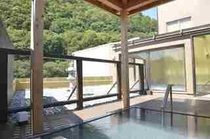 展望大浴場 さらしなの湯(露天からの景色)