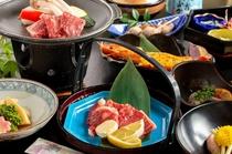 【夕食】厳選国産牛の陶板焼きプラン