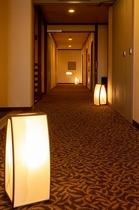 【客室】客室前廊下