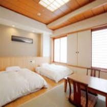 【和室】伊豆七島をテーマにリニューアルした和モダンな客室。