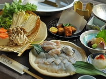 【てっちり鍋一例】料理長自慢の逸品☆※冬季限定