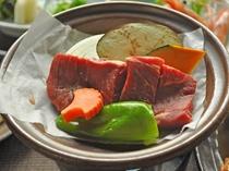 【会席料理一例】肉料理1
