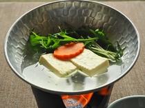 【朝食一例】湯豆腐