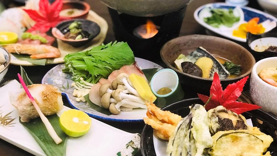 【会席蘭プラン】※季節により食材の変更がございます。