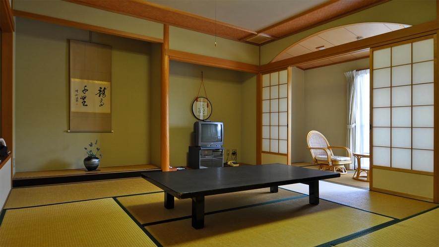 【和室8畳】1-4名様まで泊まれます。