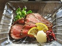 【会席料理一例】肉料理2