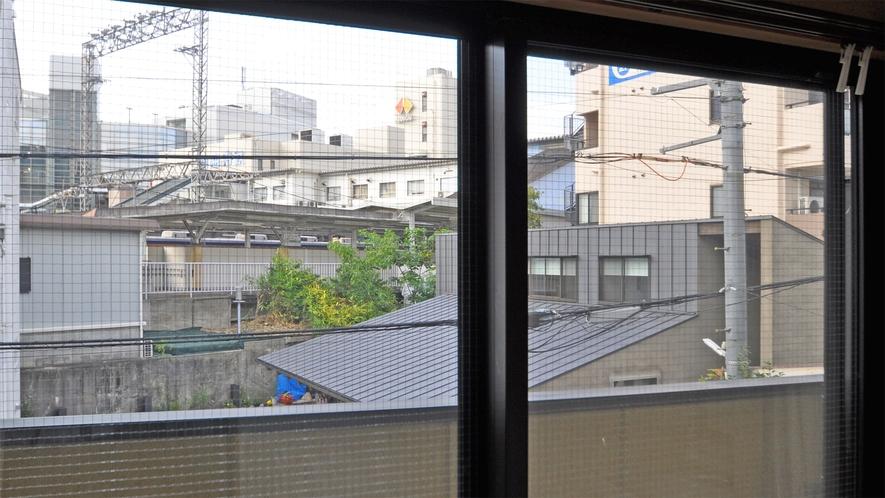 【和室12畳】お部屋から見える景色