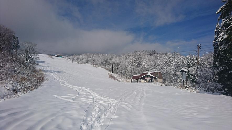 美鷹の裏赤倉温泉スキー場