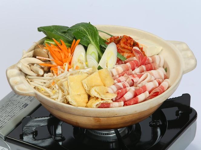 冬季プラン 夕食 旨鍋