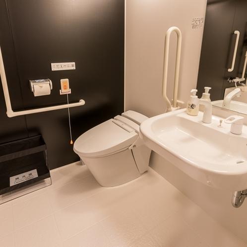 客室 トイレ&洗面所