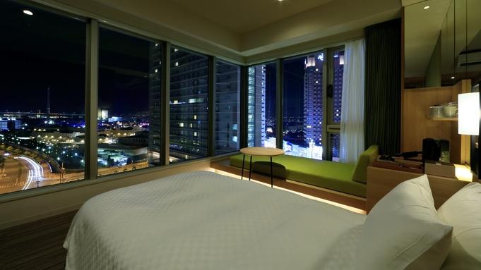 【LuxuryDaysベストレート】大きな窓面の開放感のお部屋でくつろぎの時を<素泊まり>