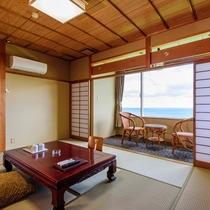 太平洋を見渡す畳のお部屋≪和室10畳≫