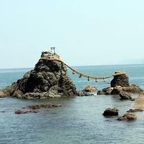 二見界隈 夫婦岩 興玉神社