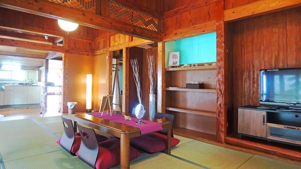 【1日1組限定】琉球古民家を改装した広々一戸建て/1〜7名様