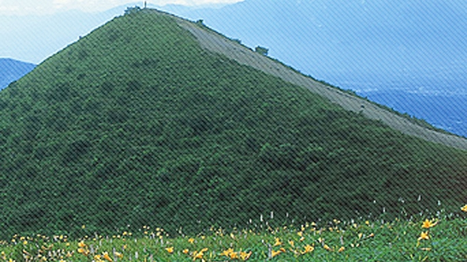 【飯盛山トレッキング】初心者にもぴったり♪夕・朝食付&温泉クアハウスまで無料送迎あり♪