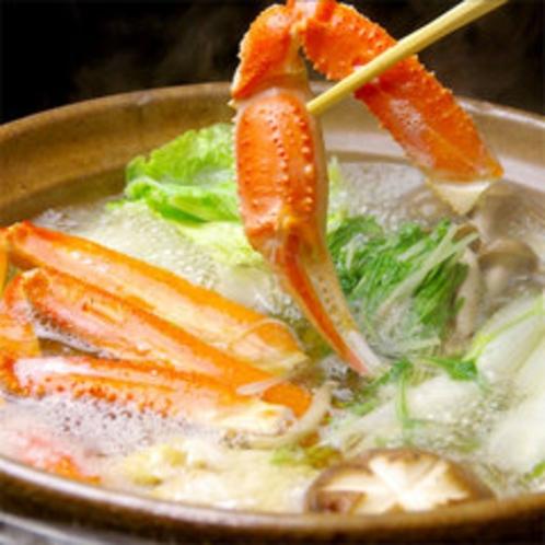 【カニスキ2】ぐつぐつ・・蟹の旨味が染みだした出汁が美味!!