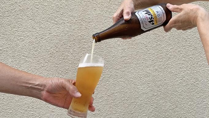 【朝食付き】☆特典☆3泊目からビール中瓶1人1本サービス