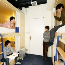 ドミトリー(Bed in MIXED DORMITORY)