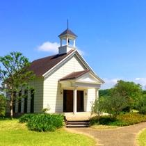 ホテル敷地内 教会