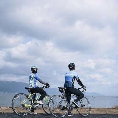 Cycling in BIWAKO<プチビワイチ体験>朝食付