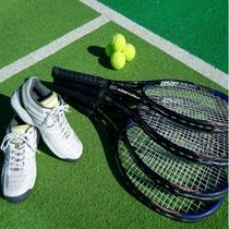 テニスコート・レンタル品