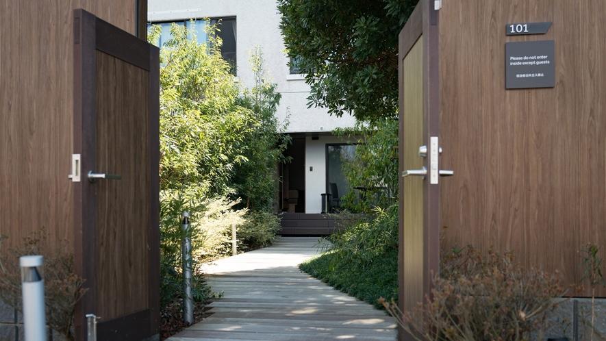 ガーデンテラス入口イメージ