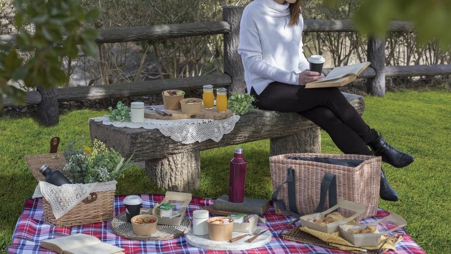ピクニック朝食イメージ