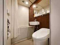 ユニットバス 当館のバス・トイレは全部屋ユニットバスとなっております。