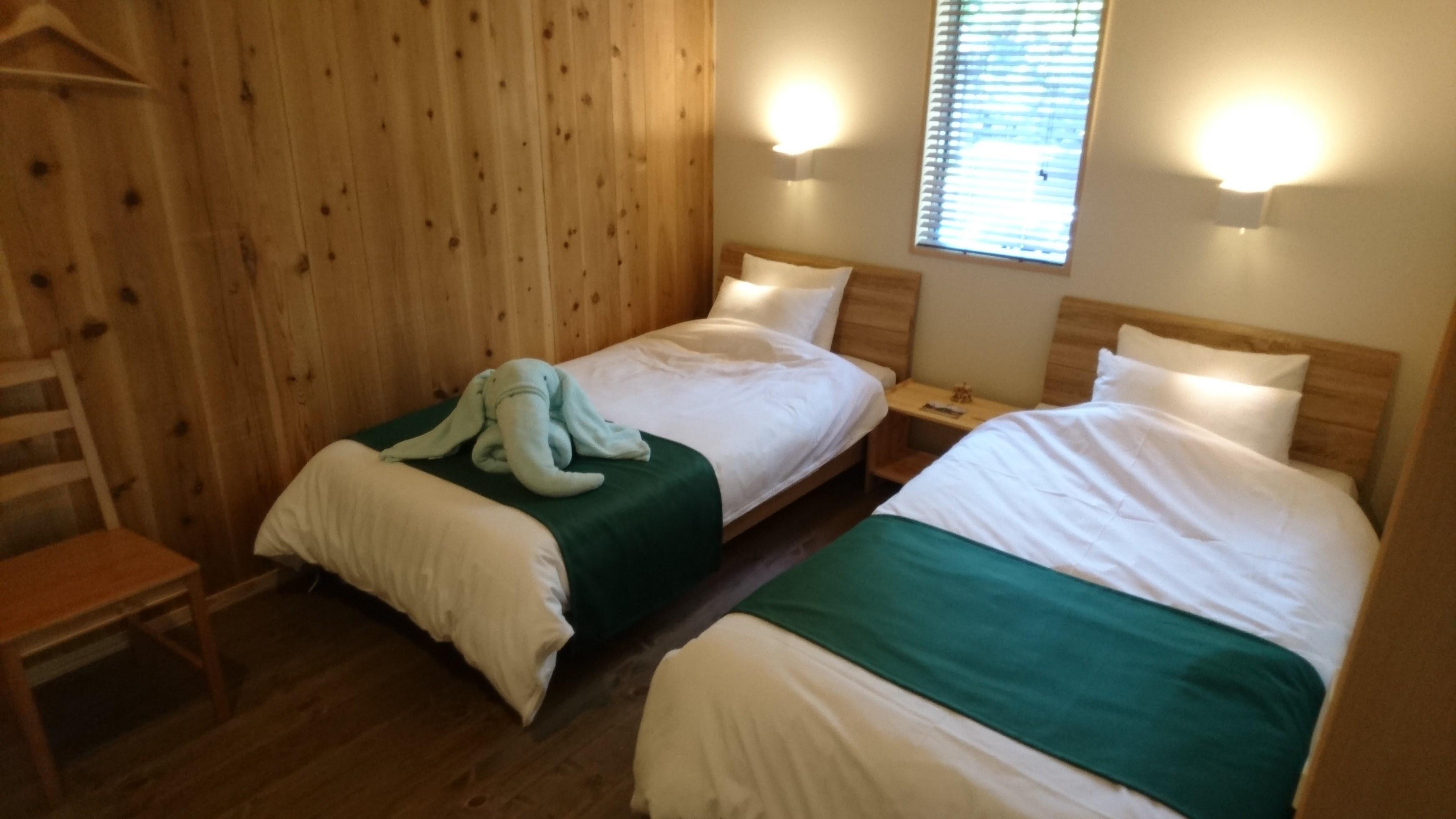 4人部屋 緑