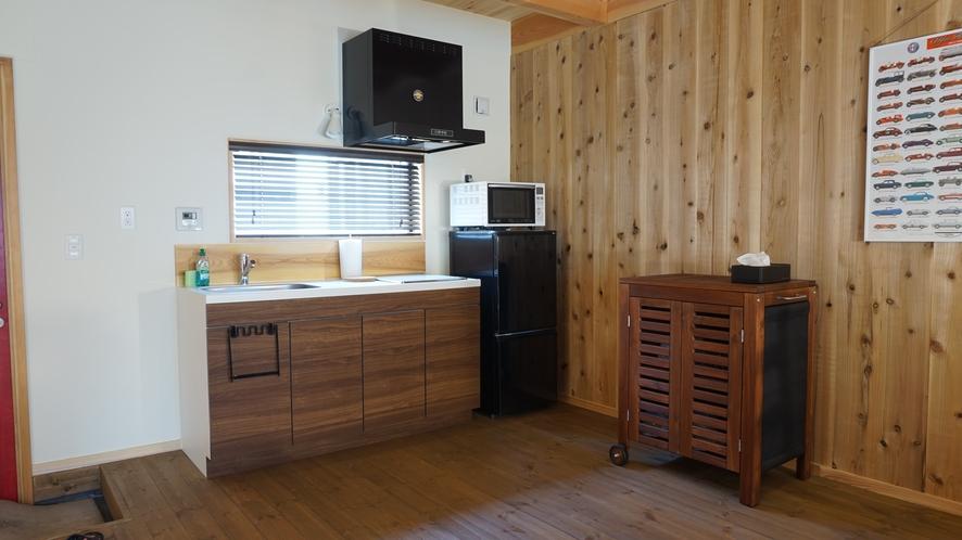 4人部屋 キッチン