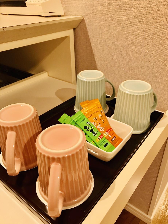 緑茶・ほうじ茶、マグカップ