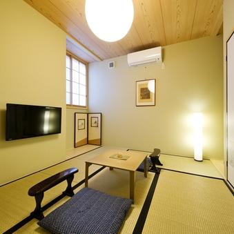 【個室・和室6畳】布団3組/11平米/Wi-Fi