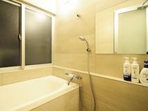 【洋室ツイン・小】バストイレ別で使い心地の良いお風呂
