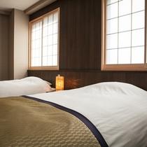 【楽天】和のツインルームベッド