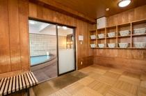 8階展望浴室 着替え