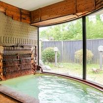*【大浴場/女湯】天然の保湿成分を多く含むので湯触り柔らかくお肌はツルスベ♪