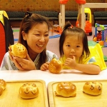 手造りパン体験
