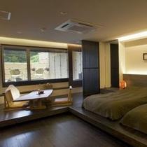 露天風呂付桐和モダン客室 2