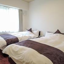 *[1.2階共通]シンプルな造りのベッドルーム