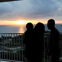 *[3階/空ーティン]東シナ海に沈む夕日を是非お部屋で!