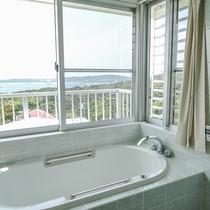 *[3階/空ーティン]贅沢な海を望むバスルーム