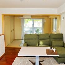 *[1階/森ームイ]森をイメージした2LDK・バストイレ付和洋室(58平米)