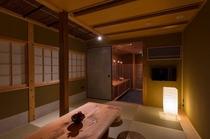 京都の美意識を合わせた伝統的な造り