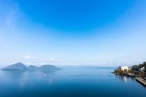 洞爺湖景観