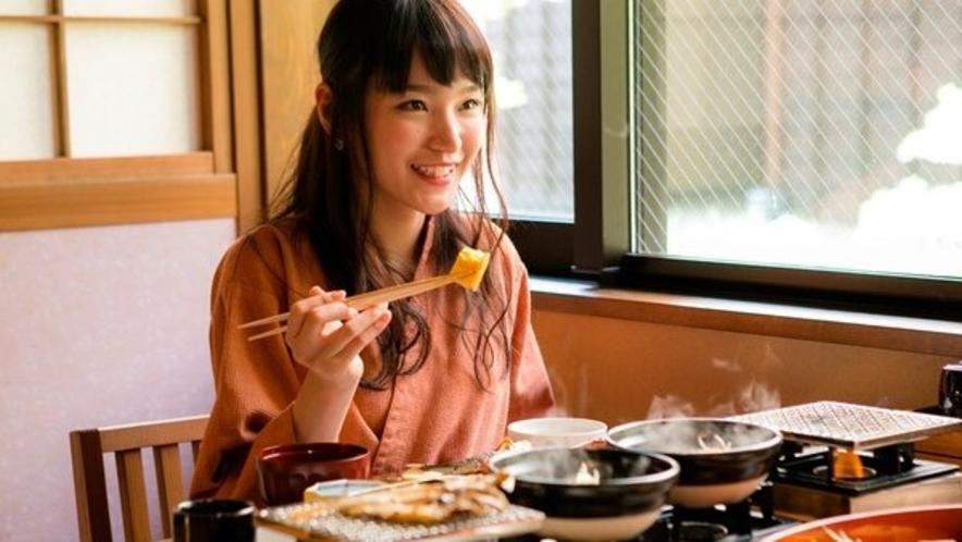 【朝餉】一汁七菜御膳